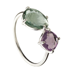 ANILLO MIDNIGHT AMETHYST SILVER