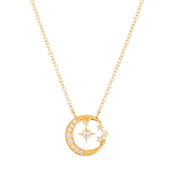 COLLAR MOONLIGHT GOLD