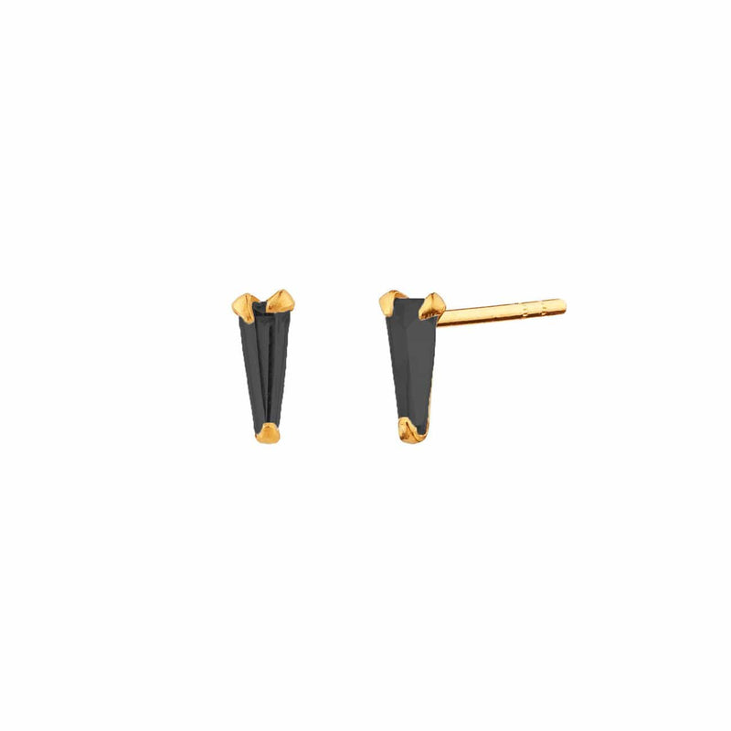 PENDIENTES NIB MINI BLACK GOLD