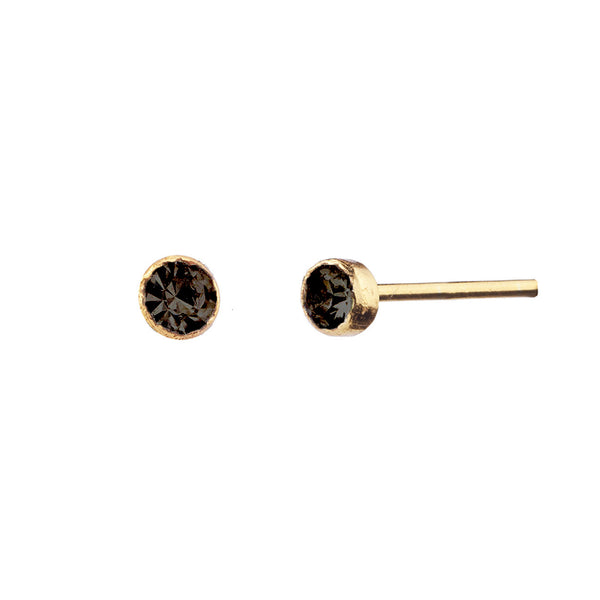 PENDIENTES PRINCESS S BLACK GOLD