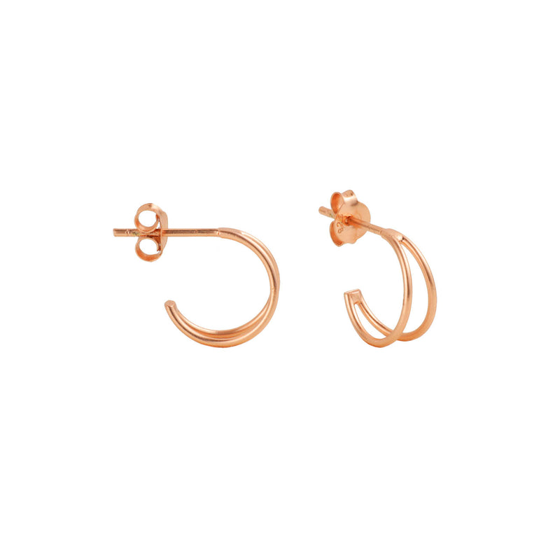 PENDIENTES SWING MINI ROSE GOLD