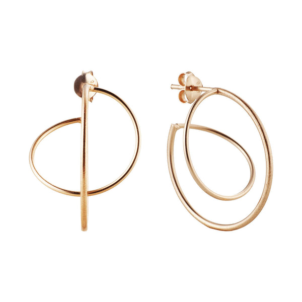 PENDIENTES SWING ROSE GOLD