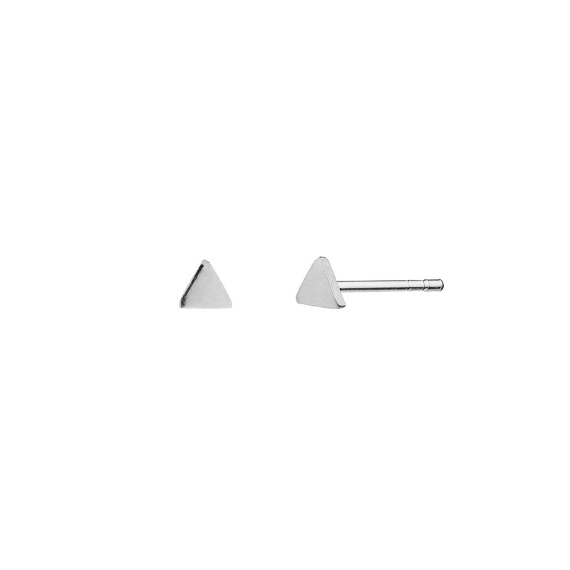 PENDIENTES TRIANGLE MINI SILVER