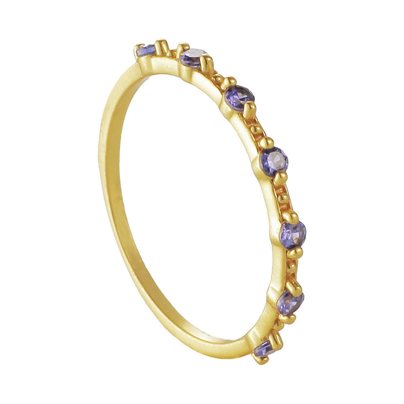ANILLO VALENTINA BLUE GOLD