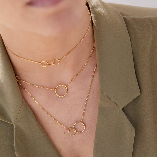 COLLAR GEMINIS GOLD
