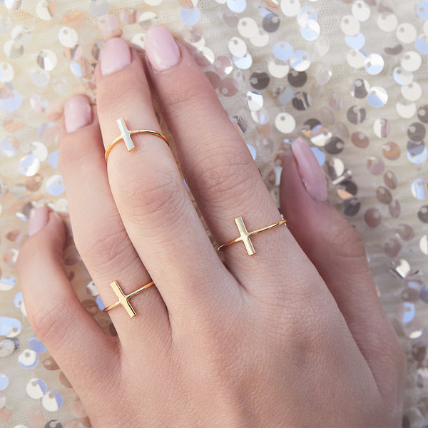 ANILLO STICK GOLD