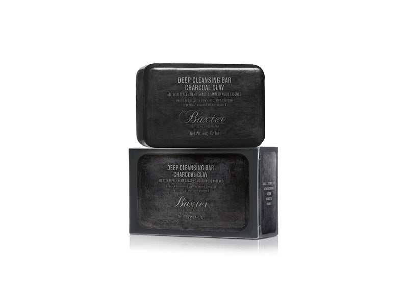 Baxter of California Deep Cleansing Charcoal Clay Bar 198g
