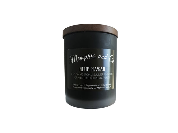 Memphis and Co. Blue Hawaii Soy Wax Candle 250ml