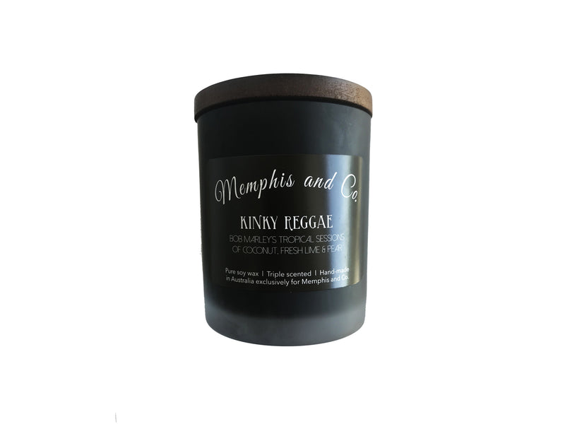 Memphis and Co. Kinky Reggae Soy Wax Candle 250ml