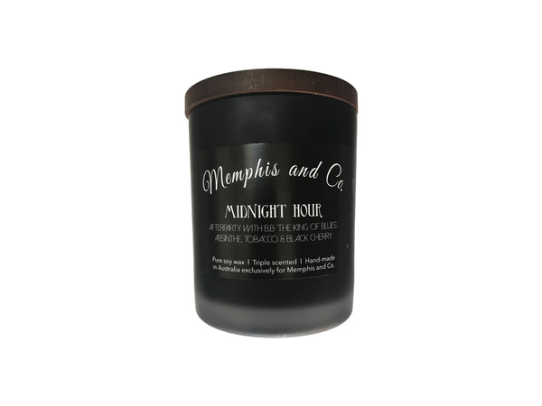 Memphis and Co. Midnight Hour Soy Wax Candle 250ml