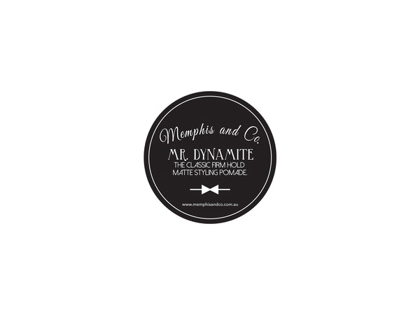 Memphis and Co. Mr. Dynamite Matte Pomade 100g