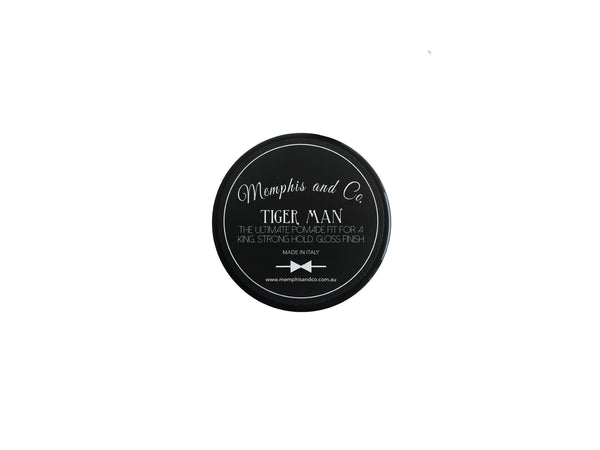 Memphis and Co. Tigerman Gloss Pomade 100g
