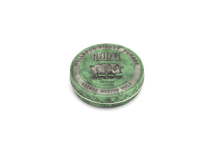 Reuzel Green Pomade Grease Medium Hold 113gm