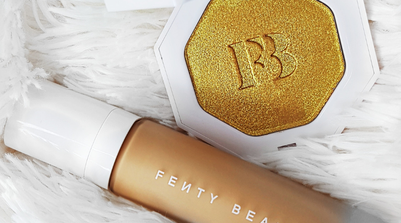 Fenty Beauty Pro Filt'r Foundation and Kilawatt highlighter Trophy Wife
