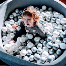 Big XL ball pit 110x40cm with 420 balls