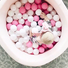Pink ball pit 80x40cm with 160 balls