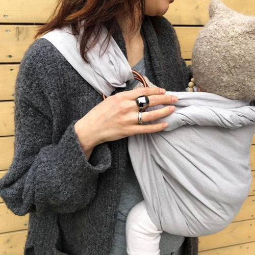 Light grey ring sling