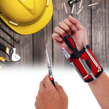 Magnetic Wristband Hand Wraps Tool Bag Adjustable