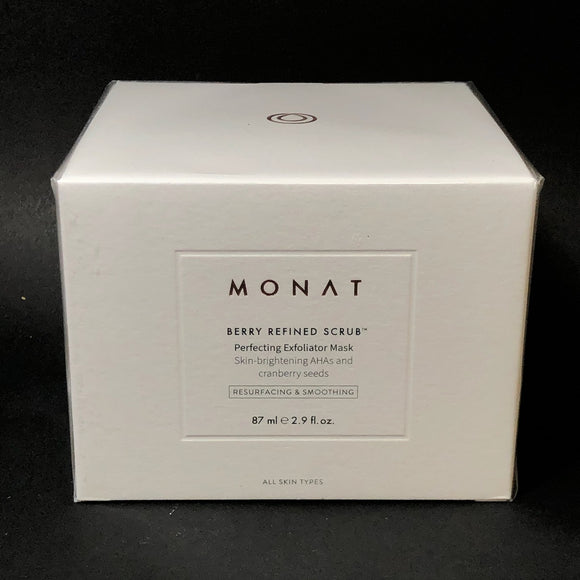 Monat Berry Refined Scrub Cleanser 2.9 oz