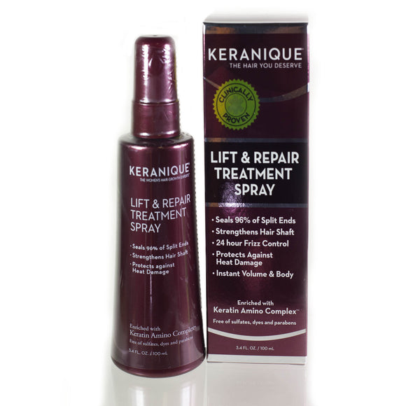 Keranique Lift & Repair Treatment Spray  -  3.4oz