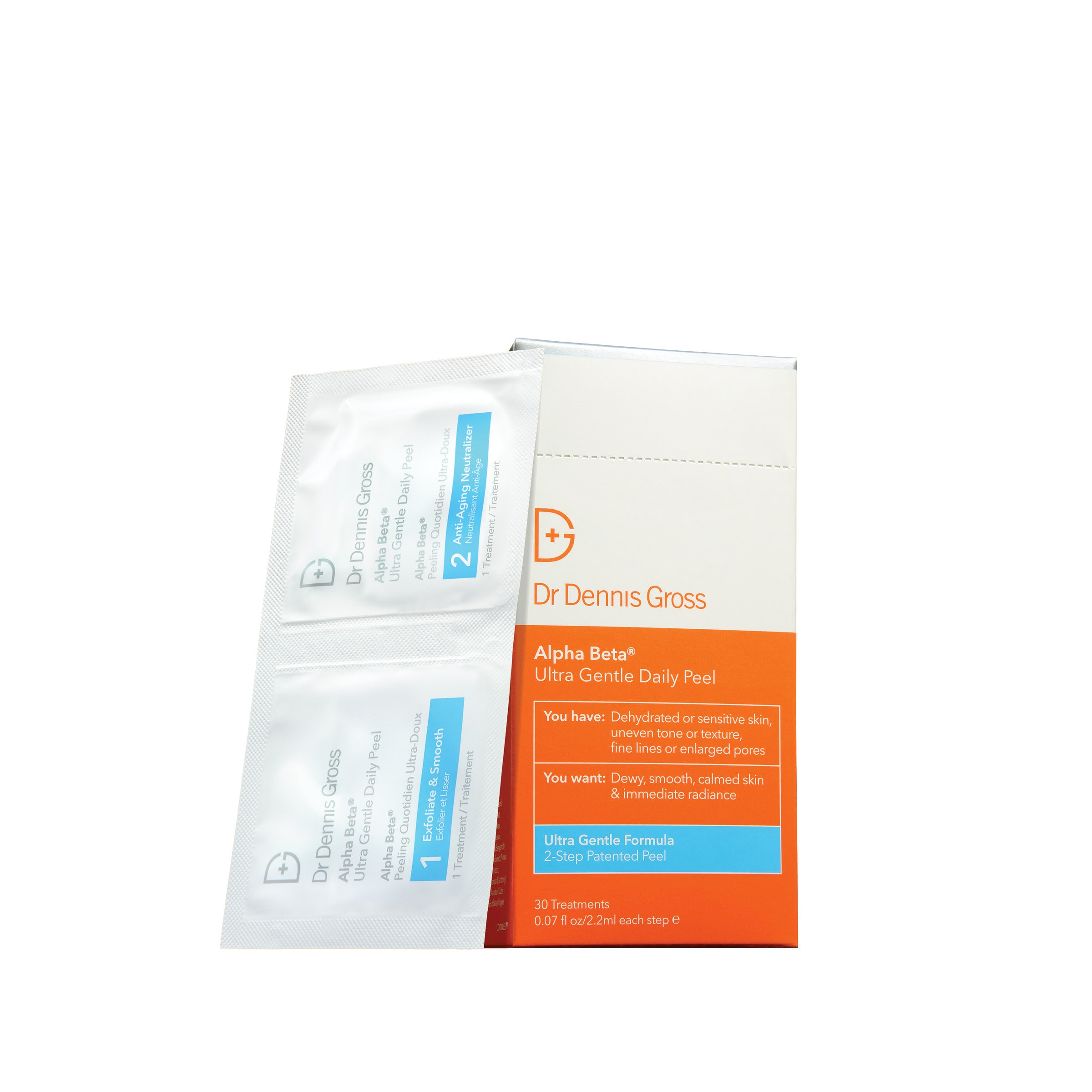 Dr Dennis Gross Alpha Beta Ultra Gentle Daily Peel - 30 Applications