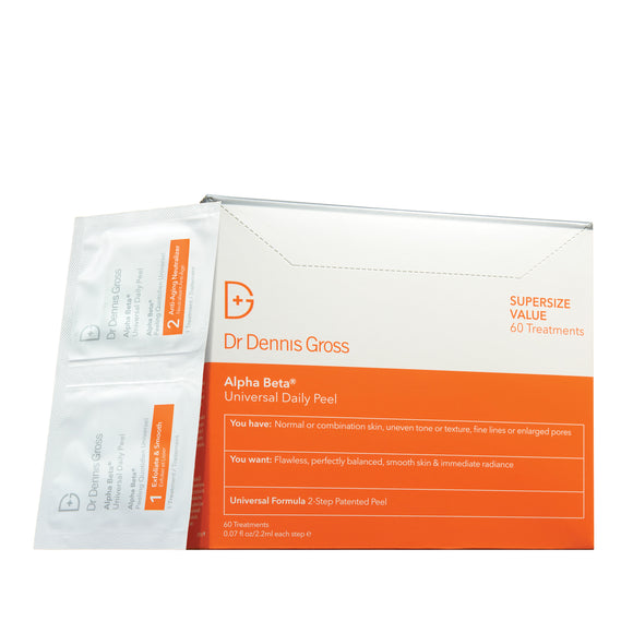 Dr Dennis Gross Alpha Beta Universal Daily Peel - 60 Packettes