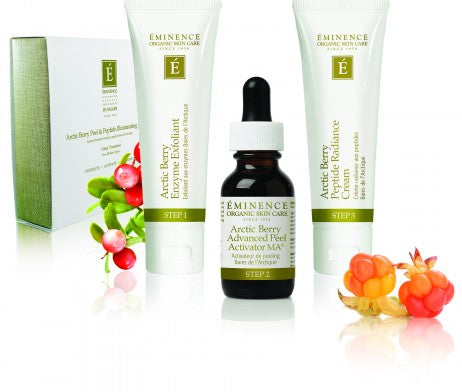 Eminence Arctic Berry Peel and Peptide System
