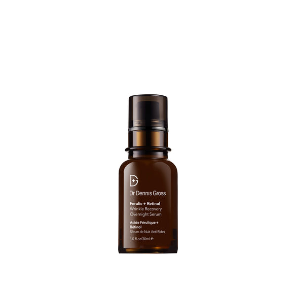 Dr Dennis Gross Ferulic + Retinol Wrinkle Recovery Overnight Serum 1 oz