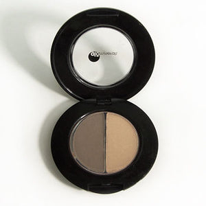 glominerals Brow Powder Duo - Brown