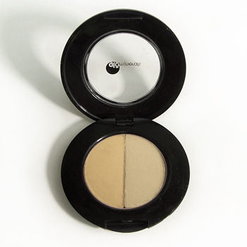 glominerals Brow Powder Duo - Taupe