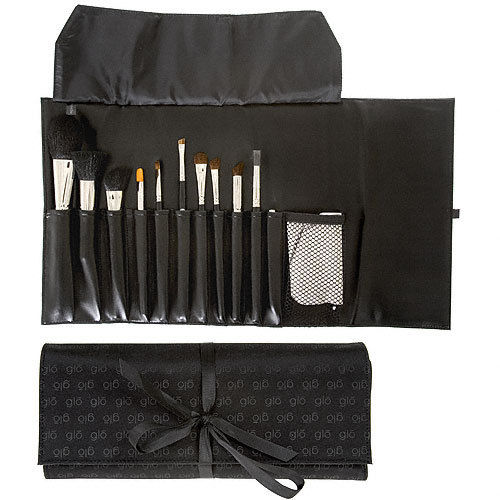 glominerals Brush Roll with Satin Tie/Magnetic closure