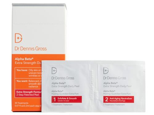 Dr Dennis Gross Alpha Beta Extra Strength Daily Peel Pads - 30 ct