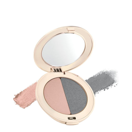 Jane Iredale Eye Shadow DUO - Hush/Smoky Grey - NEW!