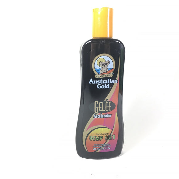 Australian Gold Gelee Dark Tanning Accelerator With Hemp Seed 8.5 oz