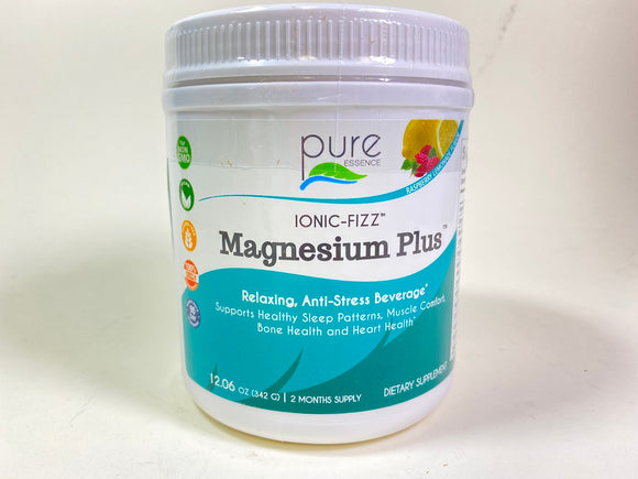 Pure Essence Labs Ionic-Fizz Magnesium Plus Raspberry Lemonade 342 gm