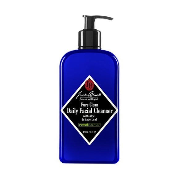 Jack Black Pure Clean Daily Facial Cleanser  16 oz
