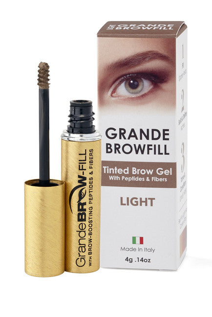 Grande Browfill Tinted Brow Gel w/Fibers/Peptides
