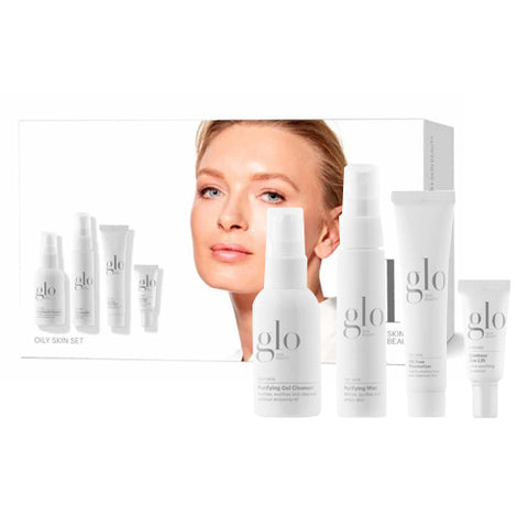 gloSkin Beauty Oily Skin Set (Travel sizes)
