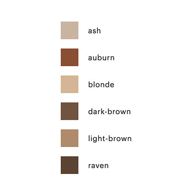 Micro Browliner Colors Chart