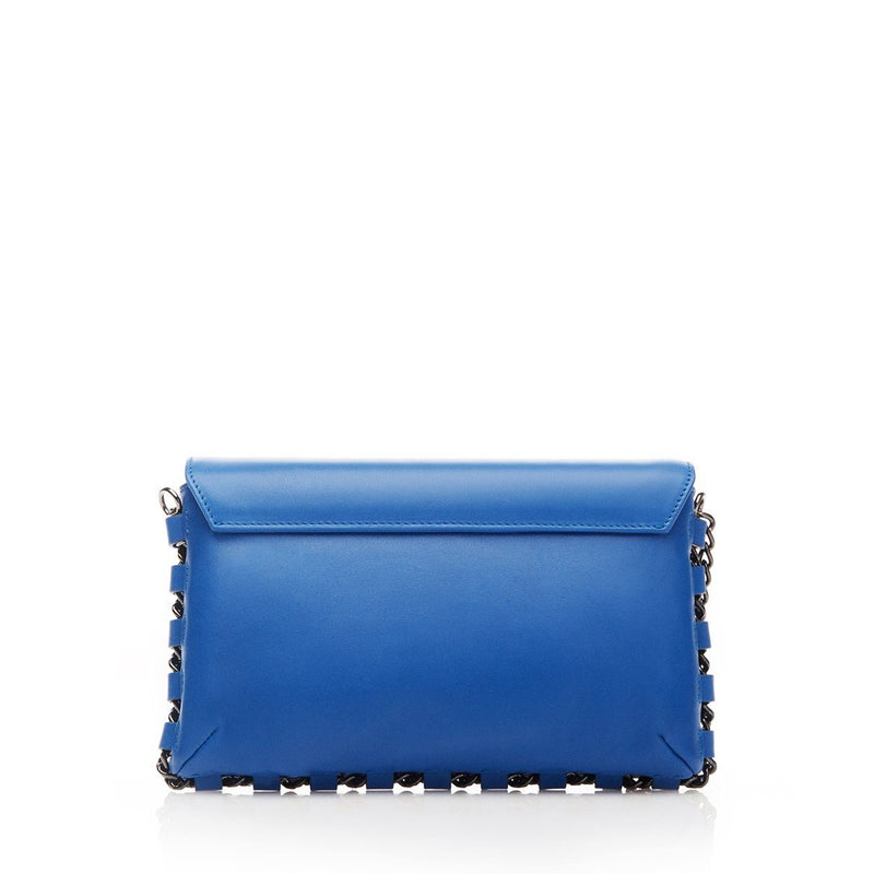 LA cobalt anti-theft handbag