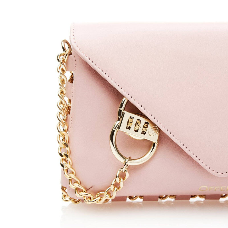 LA blush anti-theft handbag