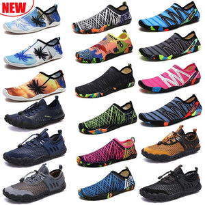 Swimming Water Aqua Shoes Men Women Beach Camping Shoes Adult Unisex Aqua Flat Soft Walking Lover yoga Shoes Non-slip sneakers