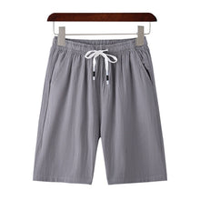 Load image into Gallery viewer, New Shorts Men Board Shorts 100%Cotton Fashion Style Man Cargo Comfortable Bermuda Beach Shorts Casual Trunks Male Outwear 5XL