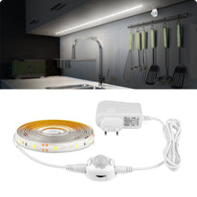 Load image into Gallery viewer, Wireless PIR Motion Sensor LED Strip light 12V Auto on/off Stair Wardrobe Closet kitchen LED Light lamp 110V 220V 1M 2M 3M 4M 5M
