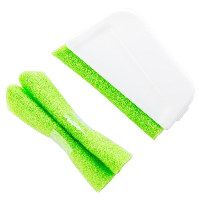 1 set window groove cleaning brush Nook Cranny Window Cleaner Bathroom Kitchen Floor Gap Household cleaning tool device
