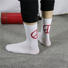 Load image into Gallery viewer, Drop Ship Autumn Winter Men Funny Harajuku Humor Word Printed Socks Creative Hip Hop Street Skateboard Unisex Crew Happy Sock
