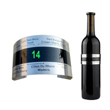 Load image into Gallery viewer, Wine Collar Thermometer Clever Wine Bottle Snap Thermometer LCD Display Clip Champagne Bracelet Thermometer Bar Beverage Tool