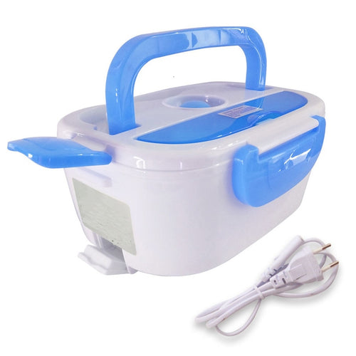 110v 220v Lunch Box Food Container Portable Electric Heating Food Warmer Heater Rice Container Dinnerware Sets For Home Dropship
