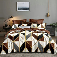 Load image into Gallery viewer, Jane Spinning King Duvet Cover Set Geometry Comforter Bedding Sets Duvet Cover 200x200 QQ05#