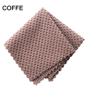 Anti-grease wiping Efficient Super Absorbent Microfibre Cleaning Home Washing Dish Kitchen